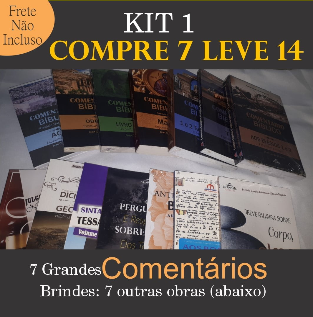 SUPER KIT 1 DA GRAMATA - Compre 7 LEVE 14 + Taxa de frete