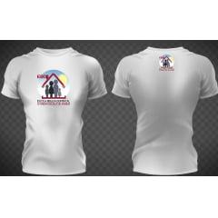 Camisa da escola dominical poliéster branca