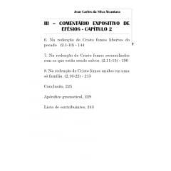 Comentário Expositivo da Carta aos Efésios - prefácio Elinaldo Renovato