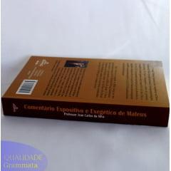Comentários Bíblicos: Expositivo, Exegético com quadro em traduções.