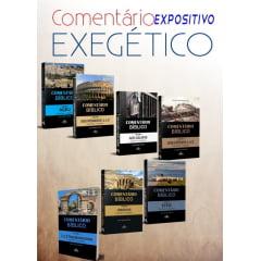 Kit com 7 comentários Bíblicos - Tess/Rm/Ag/Ob/Ef/Tt/Gl