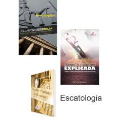 KIT ESCATOLOGIA E-BOOK'S. e livros