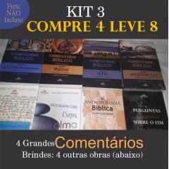 SUPER KIT 3 DA GRAMMATA - Compre 4 LEVE 8 + Taxa de frete